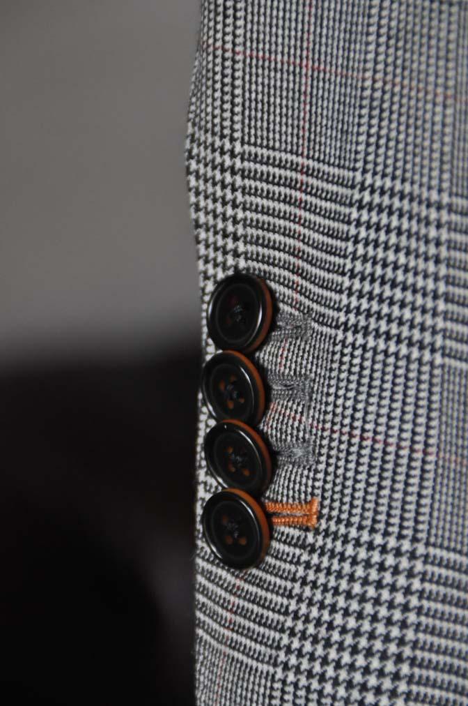 DSC20211 お客様のスーツの紹介- DUGDALE グレンチェック ダブルベスト-