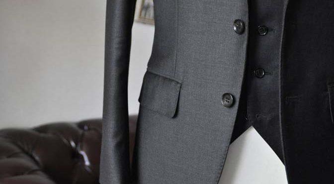 ジャケットの腰ポケットの種類 フラップポケット