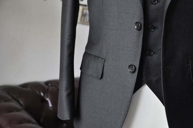 DSC2098-1 ジャケットの腰ポケットの種類 名古屋の完全予約制オーダースーツ専門店DEFFERT