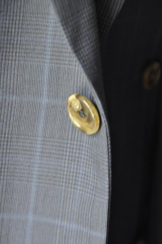 DSC2133 お客様のスーツの紹介-BIELLESI ネイビーチェック-