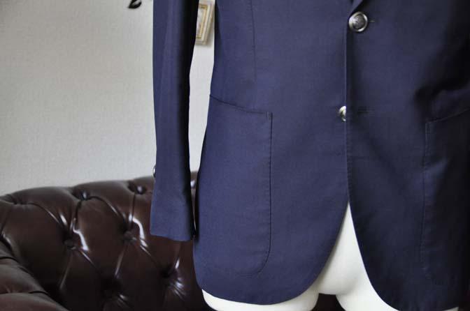 DSC2136-1 ジャケットの腰ポケットの種類 名古屋の完全予約制オーダースーツ専門店DEFFERT