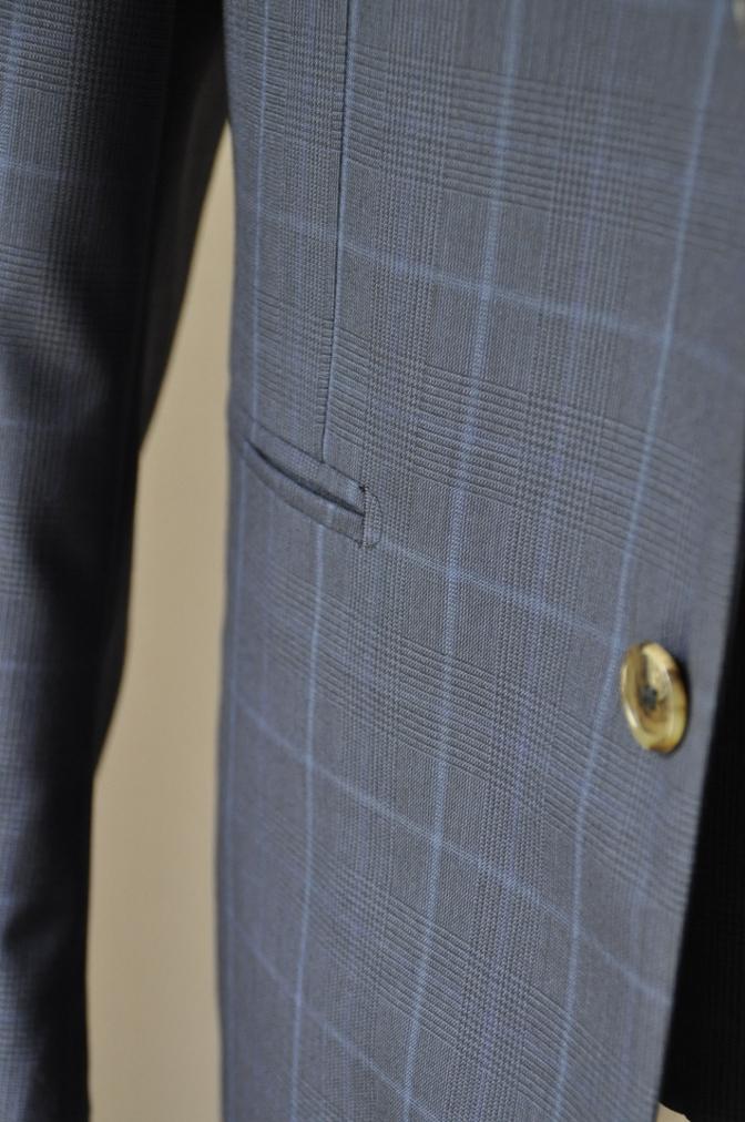 DSC2136 お客様のスーツの紹介-BIELLESI ネイビーチェック-