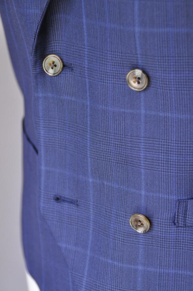 DSC2142 お客様のスーツの紹介-BIELLESI ネイビーチェック-