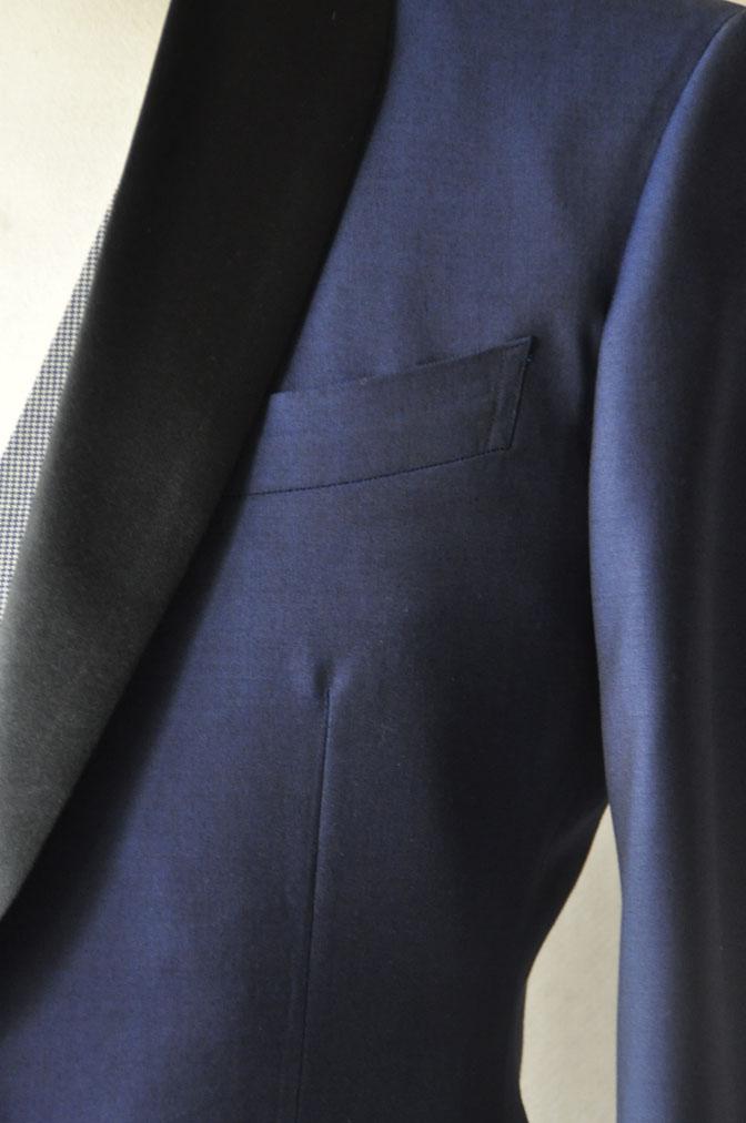 DSC22101 お客様のウエディング衣装の紹介-ネイビータキシード- 名古屋の完全予約制オーダースーツ専門店DEFFERT