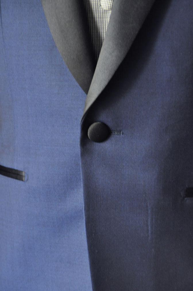 DSC2211 お客様のウエディング衣装の紹介-ネイビータキシード- 名古屋の完全予約制オーダースーツ専門店DEFFERT