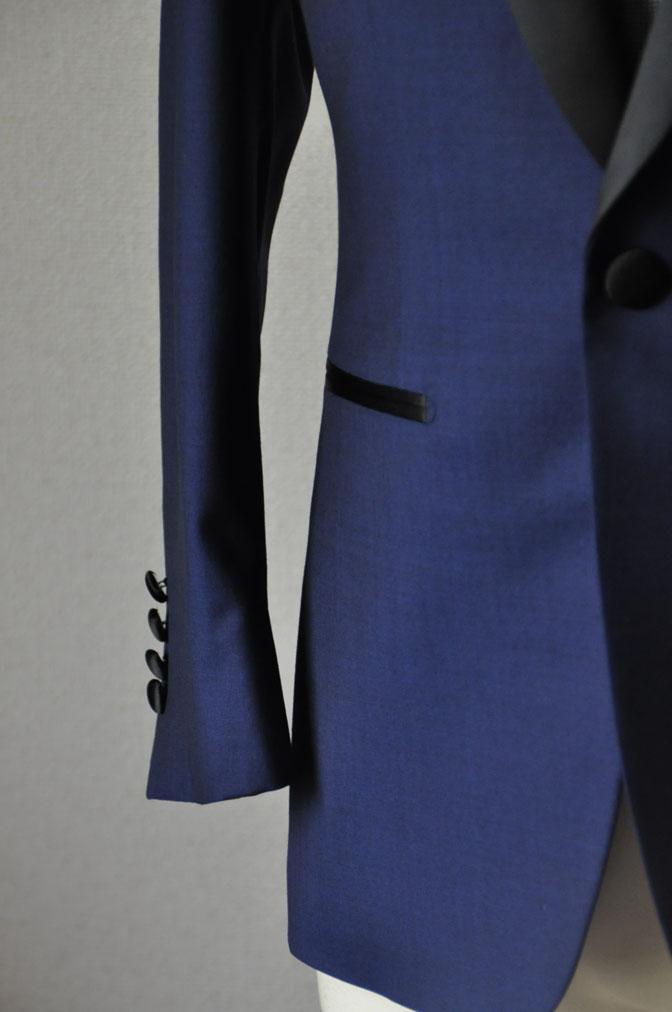 DSC22131 お客様のウエディング衣装の紹介-ネイビータキシード- 名古屋の完全予約制オーダースーツ専門店DEFFERT