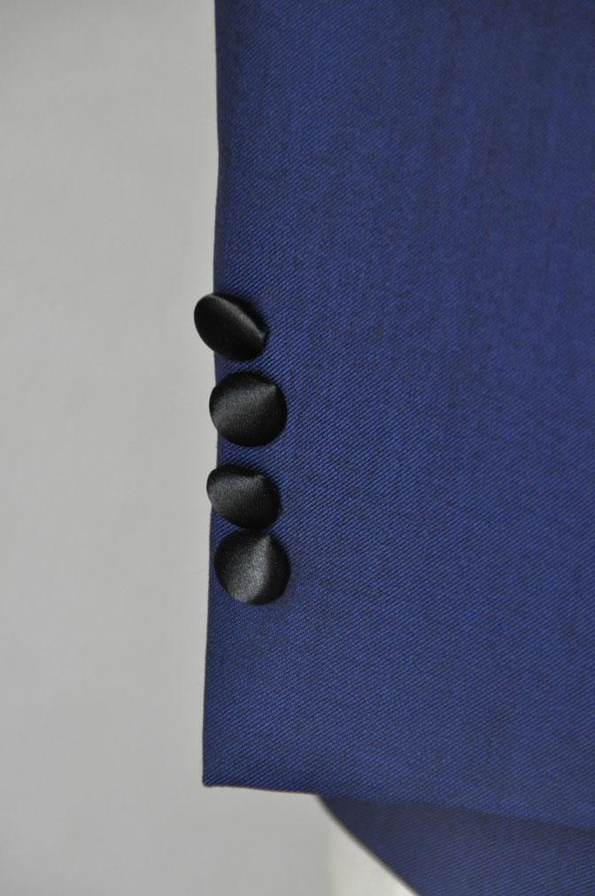 DSC2214 お客様のウエディング衣装の紹介-ネイビータキシード- 名古屋の完全予約制オーダースーツ専門店DEFFERT