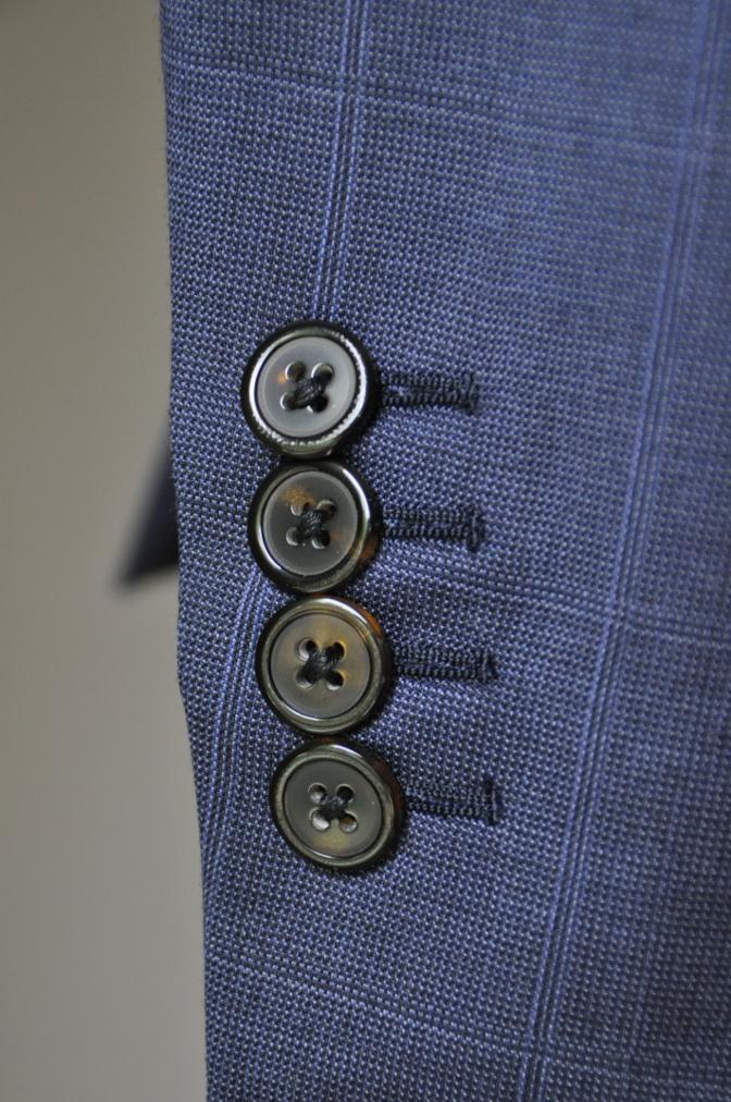 DSC22251 お客様のスーツの紹介- BIELLESI ネイビーチェックスリーピース-