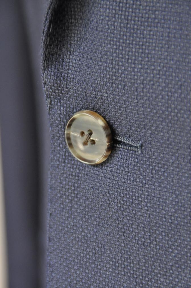 DSC2241 お客様のスーツの紹介-CANONICO ネイビーホップサックジャケット-