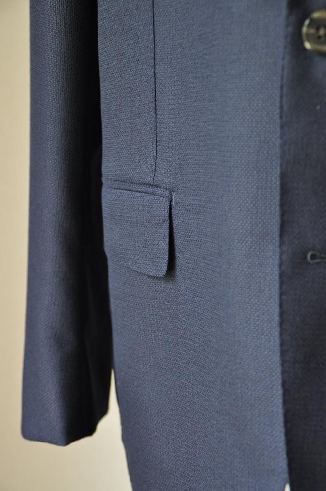 DSC2242 お客様のスーツの紹介-CANONICO ネイビーホップサックジャケット-