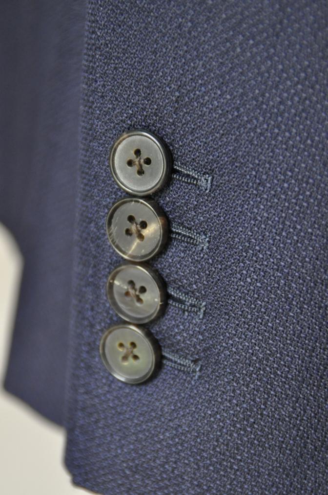 DSC22431 お客様のスーツの紹介-CANONICO ネイビーホップサックジャケット-