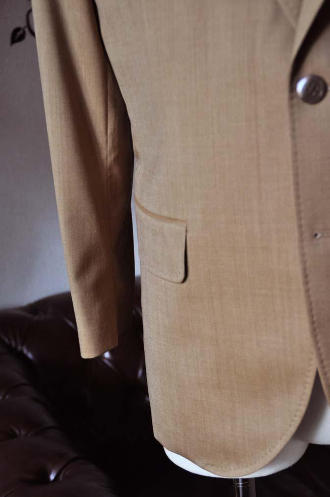 DSC2244-1 お客様のセットアップスーツの紹介-御幸毛織 無地ブラウンセットアップ- 名古屋の完全予約制オーダースーツ専門店DEFFERT