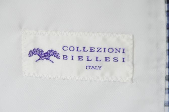DSC2265 お客様のジャケットの紹介- Collezioni Biellesi ブルーチェックシアサッカー-