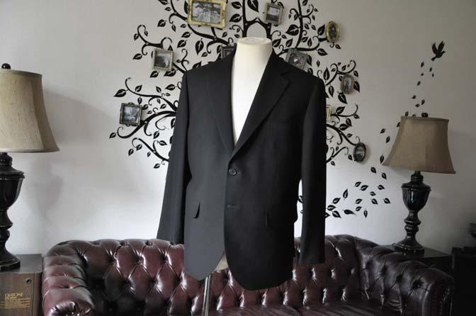 DSC2272-1 お客様のスーツの紹介-ブラックスーツ-