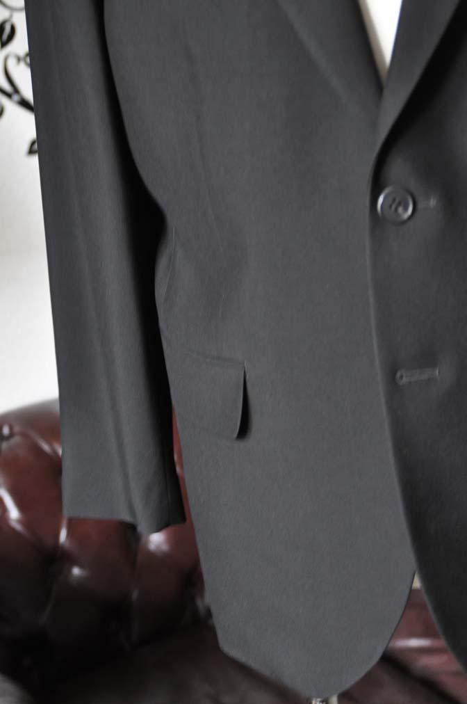 DSC2279 お客様のスーツの紹介-ブラックスーツ-
