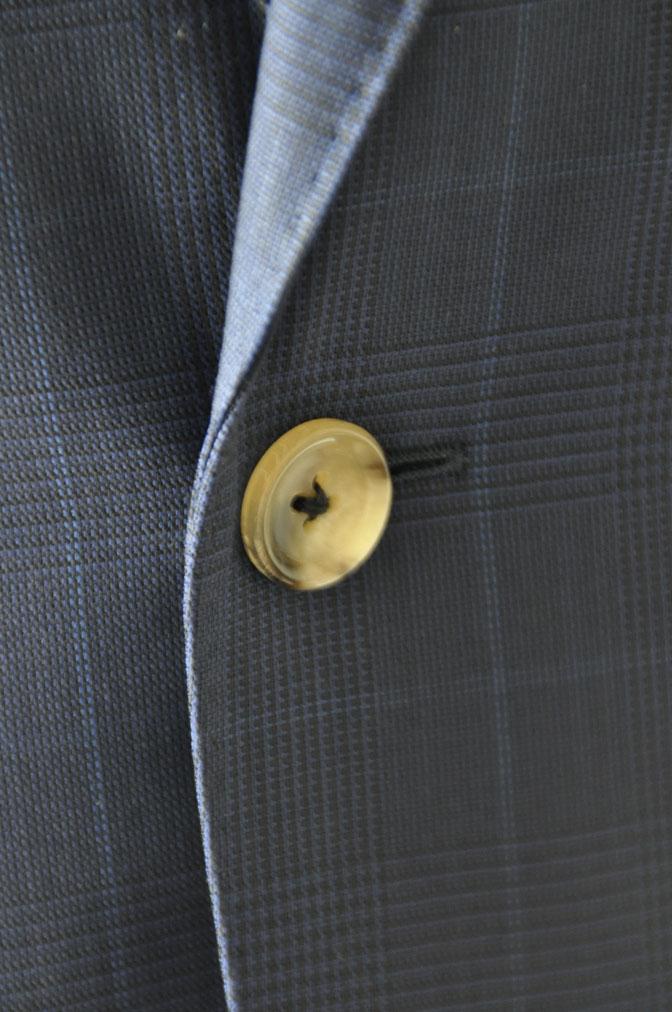 DSC2358 お客様のスーツの紹介-LoroPiana ネイビチェックスーツ - 名古屋の完全予約制オーダースーツ専門店DEFFERT