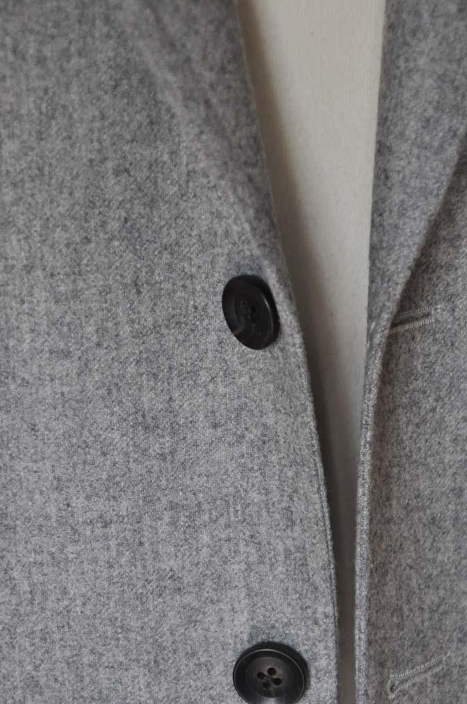 DSC2361-1 お客様のスーツの紹介- Canonico ライトグレーフランネルスーツ-
