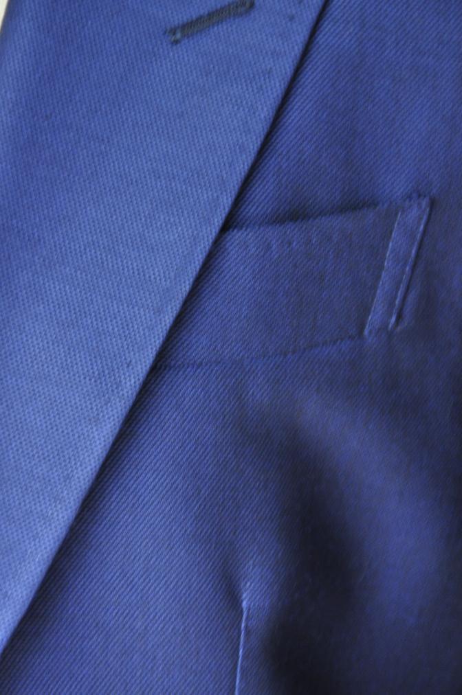 DSC23641 お客様のウエディング衣装の紹介-BIELLESI ネイビースーツ チェックベスト- 名古屋の完全予約制オーダースーツ専門店DEFFERT
