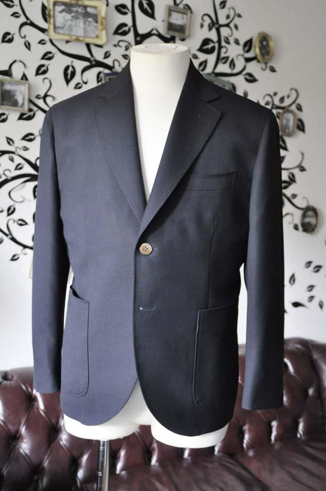 DSC2377-1 お客様のジャケットの紹介-ネイビーホップサックジャケット-