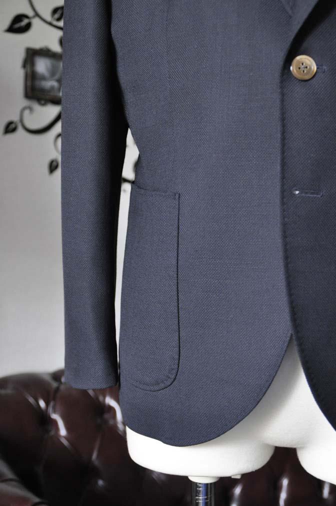 DSC2385-1 お客様のジャケットの紹介-ネイビーホップサックジャケット-