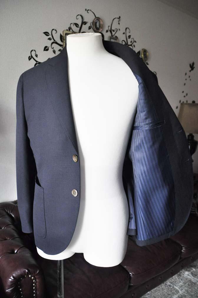 DSC2386-1 お客様のジャケットの紹介-ネイビーホップサックジャケット-