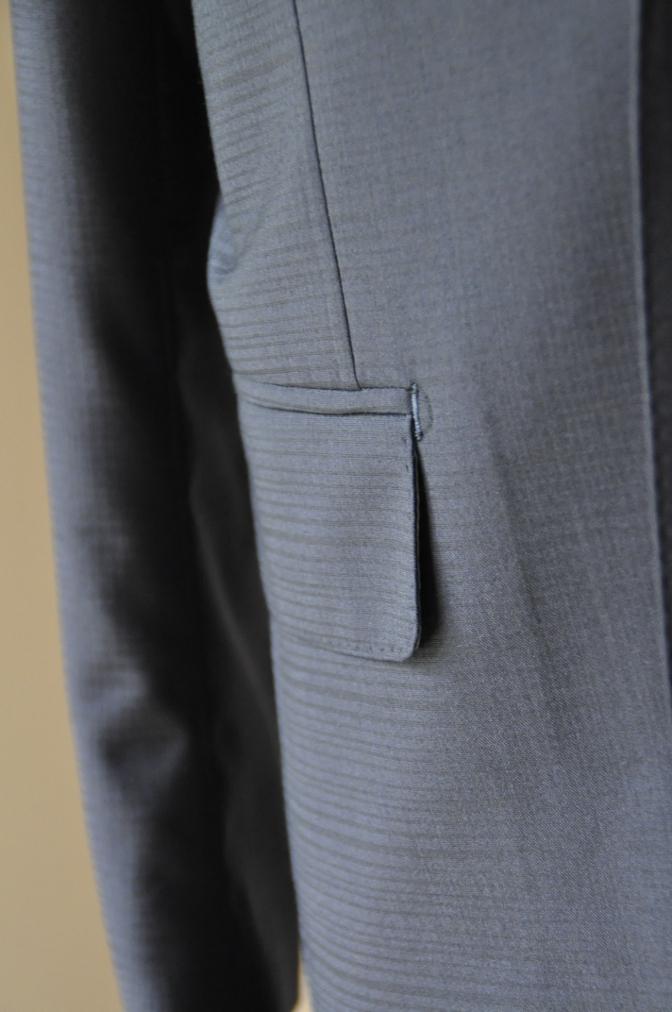 DSC24013 お客様のスーツの紹介- BIELLESI ネイビーシャドウチェック-