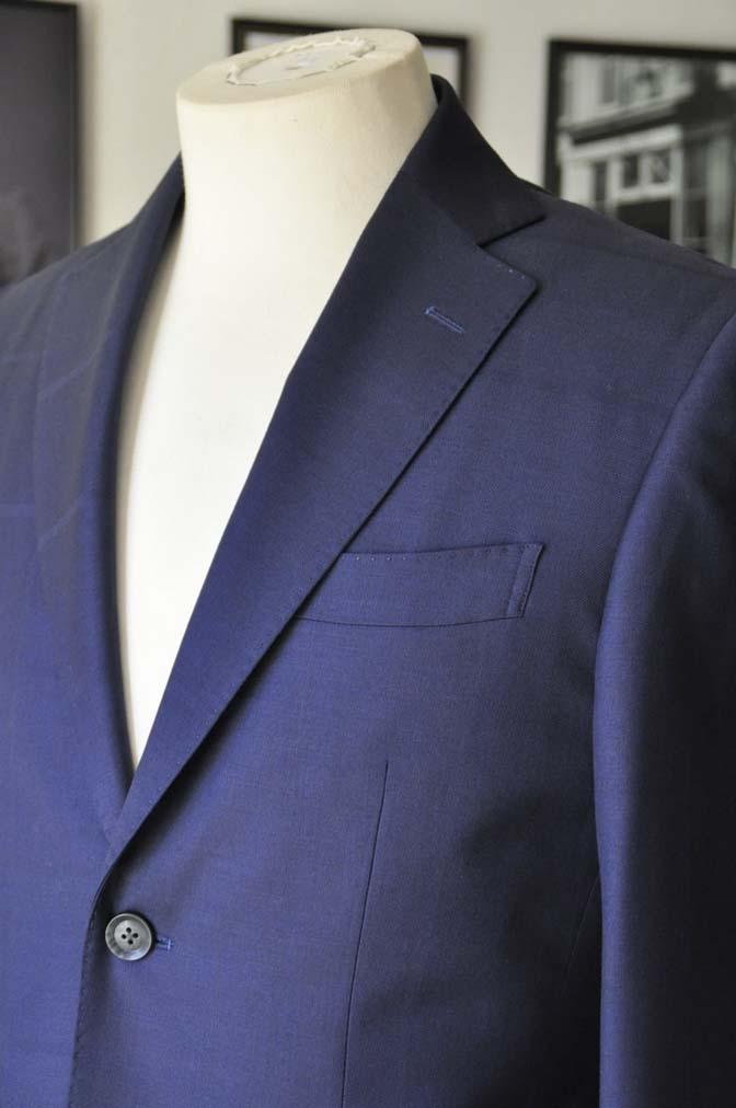 DSC2407 お客様のスーツの紹介- Biellesi ネイビーウィンドペン-