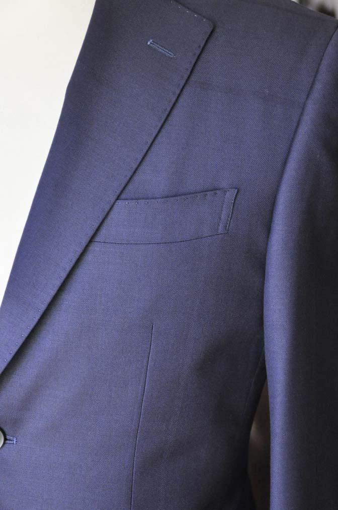 DSC2409-1 お客様のスーツの紹介- Biellesi ネイビーウィンドペン-
