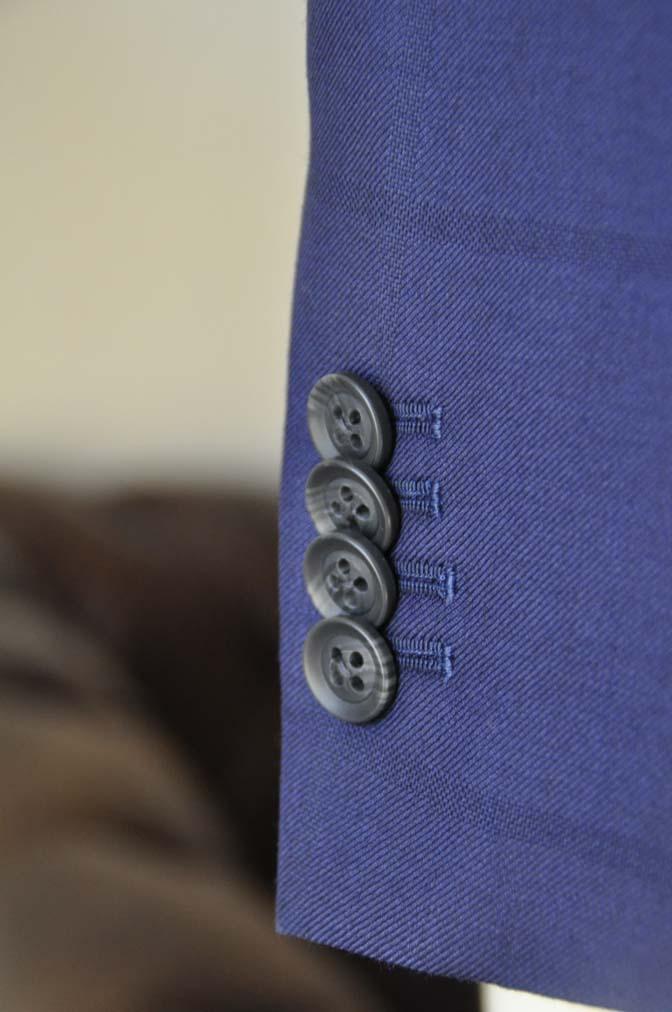 DSC2413 お客様のスーツの紹介- Biellesi ネイビーウィンドペン-