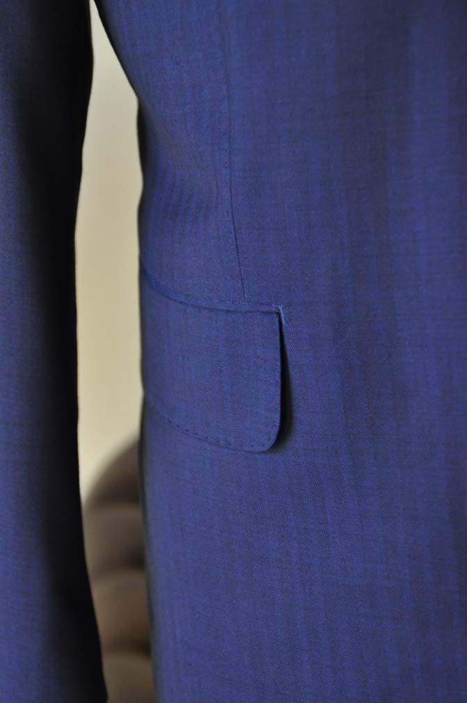 DSC24301 お客様のスーツの紹介- Biellesi ネイビーヘリンボーンスリーピース-