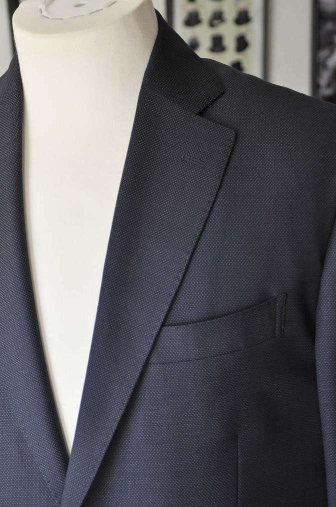 DSC2442-1 お客様のスーツの紹介- Canonico ネイビースーツ-