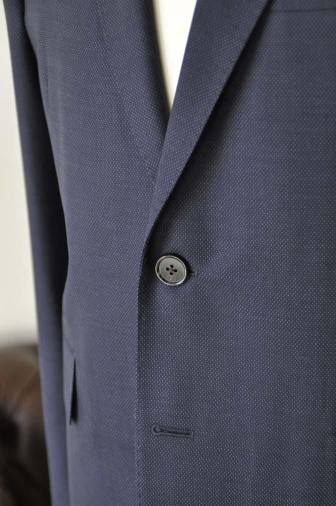 DSC2444-1 お客様のスーツの紹介- Canonico ネイビースーツ-