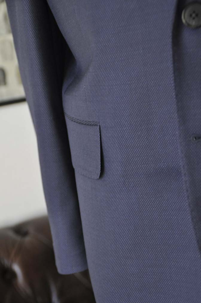 DSC2445-1 お客様のスーツの紹介- Canonico ネイビースーツ-