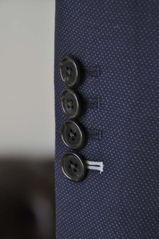 DSC2446-1 お客様のスーツの紹介- Canonico ネイビースーツ-
