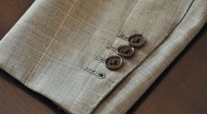 スーツのパーツ名称「本切羽(ホンセッパ)」