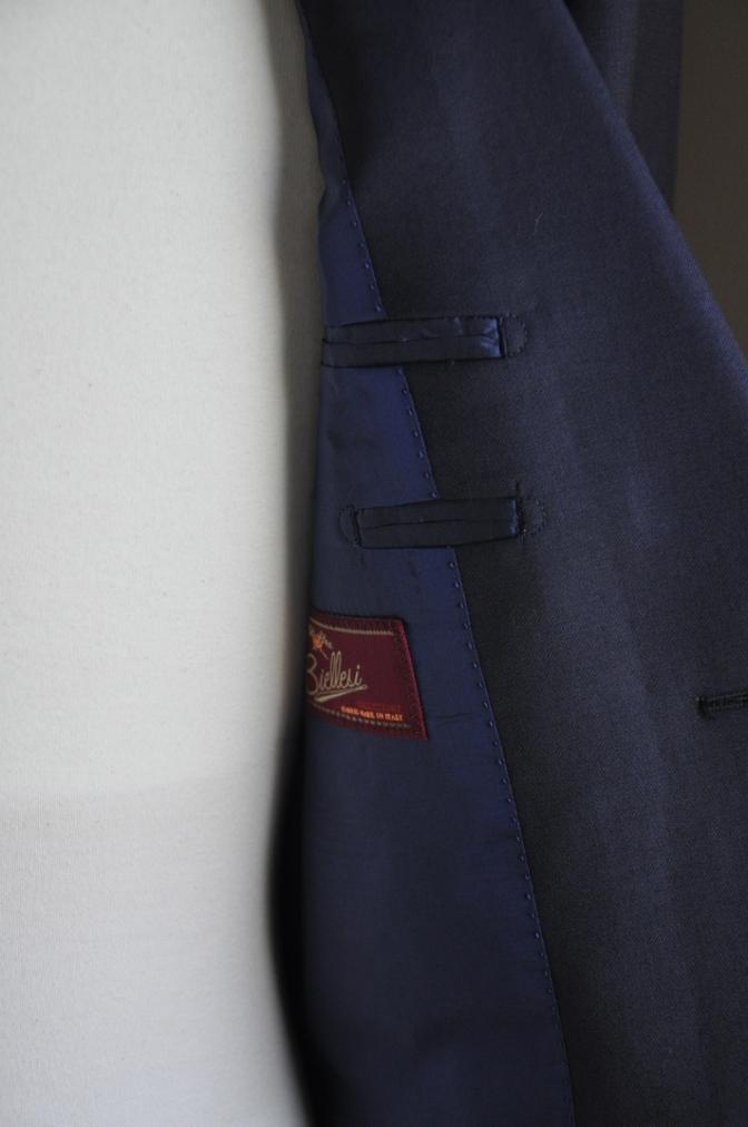 DSC2463 オーダースーツ-BIELLESI ネイビースーツ-