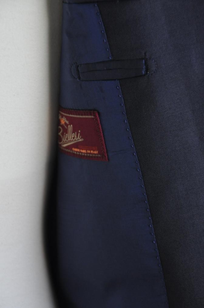 DSC2464 オーダースーツ-BIELLESI ネイビースーツ-