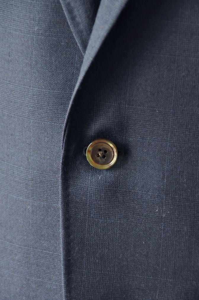 DSC2476 お客様のスーツの紹介-御幸毛織ネイビーチェックスーツ-