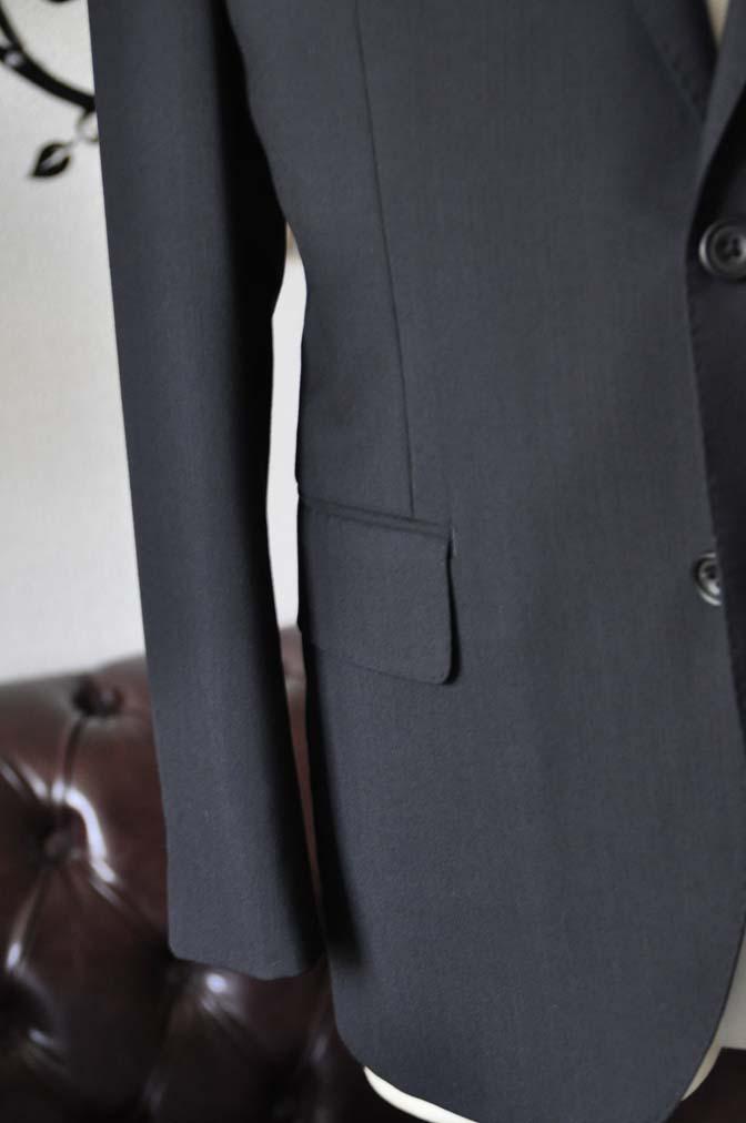 DSC2485 お客様のスーツの紹介-御幸毛織 ダークネイビースーツ-