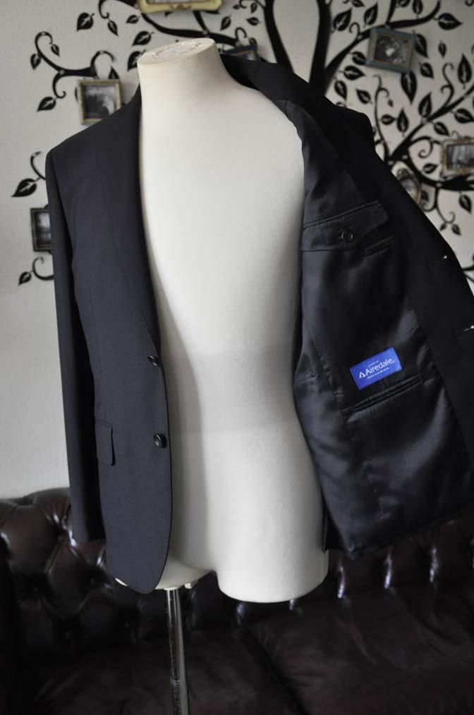DSC2487-1 お客様のスーツの紹介-御幸毛織 ダークネイビースーツ-