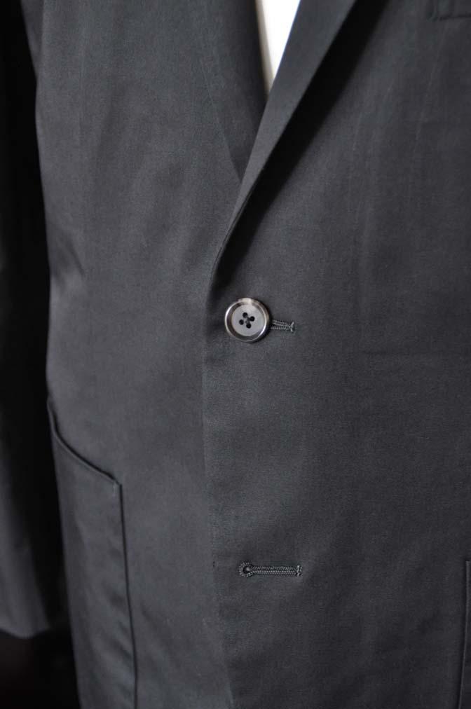 DSC2519-1 お客様のカジュアルスーツの紹介-LARUSMIANI ブラック コットンセットアップ- 名古屋の完全予約制オーダースーツ専門店DEFFERT