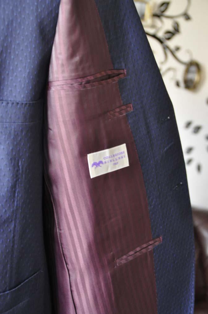 DSC2537-1 お客様のウエディング衣装の紹介- Collezioni Biellesi無地ネイビー短パンスリーピース-