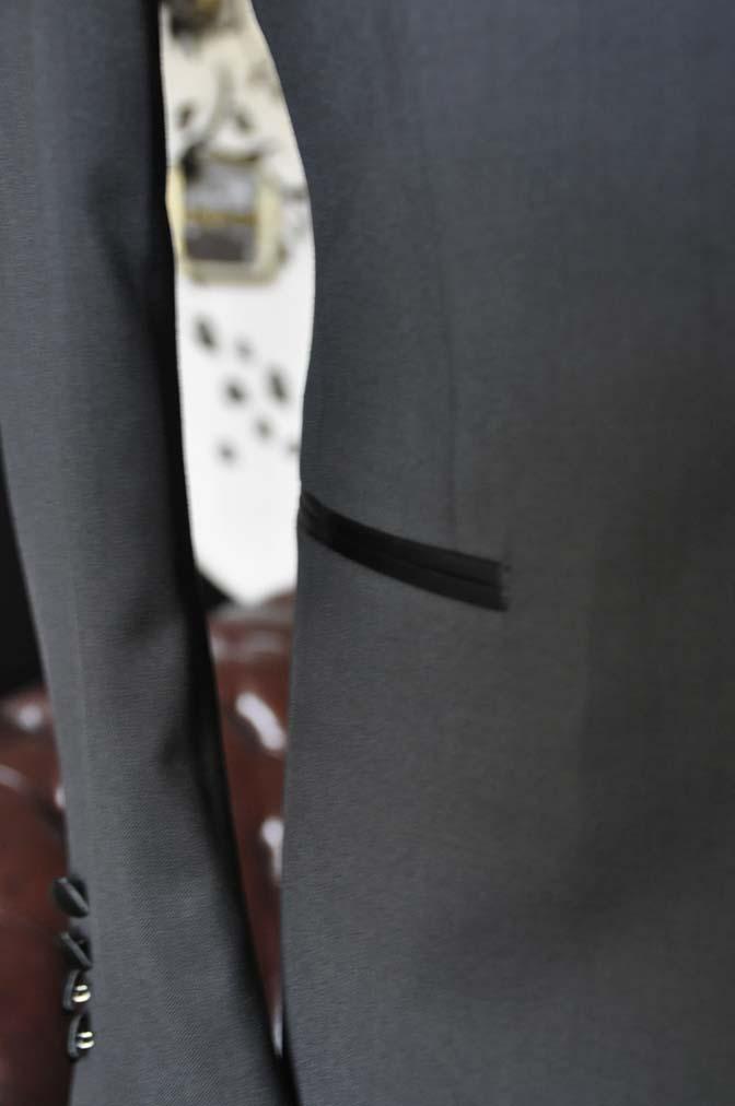 DSC2557 お客様のタキシードの紹介- Biellesiブラックショールカラータキシード- 名古屋の完全予約制オーダースーツ専門店DEFFERT
