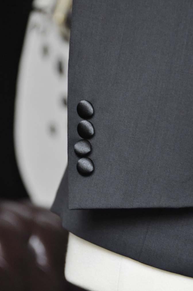DSC2558 お客様のタキシードの紹介- Biellesiブラックショールカラータキシード- 名古屋の完全予約制オーダースーツ専門店DEFFERT