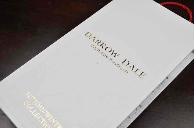 DSC2561 2018AW 生地バンチ入荷  「DARROW DALE」