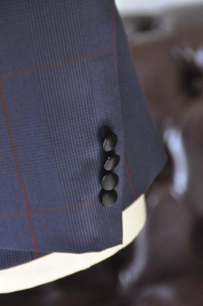 DSC25841 お客様のウエディング衣装の紹介- Biellesiネイビーチェック ショールカラータキシード-DSC25841 お客様のウエディング衣装の紹介- Biellesiネイビーチェック ショールカラータキシード- 名古屋市のオーダータキシードはSTAIRSへ