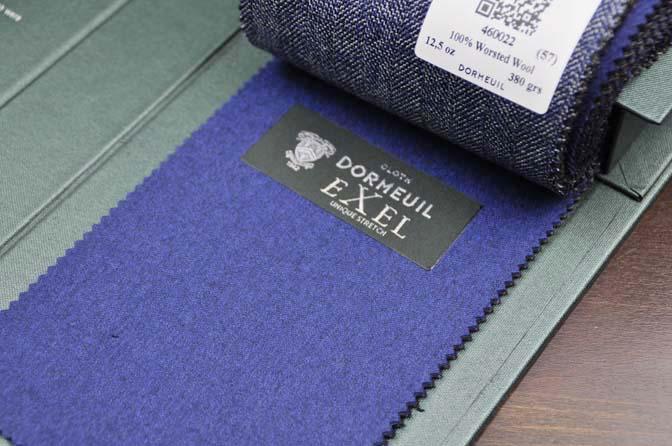DSC2616-1 2018AW 生地バンチ入荷   「DORMEUIL –British Collection-」 名古屋の完全予約制オーダースーツ専門店DEFFERT