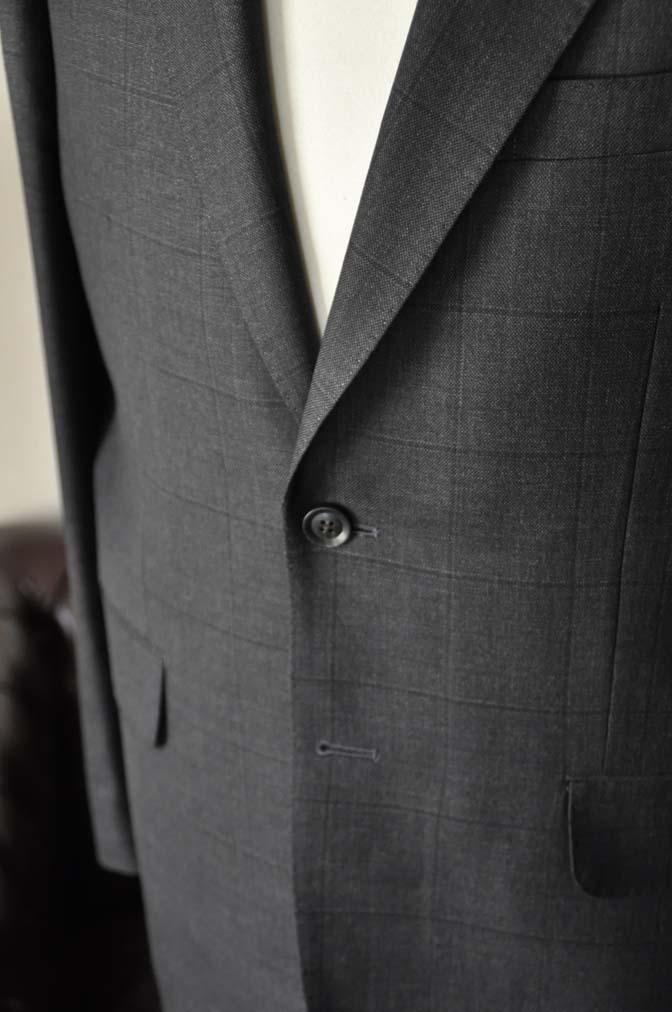 DSC26183 お客様のスーツの紹介- Charles Clayton グレーウィンドペン-