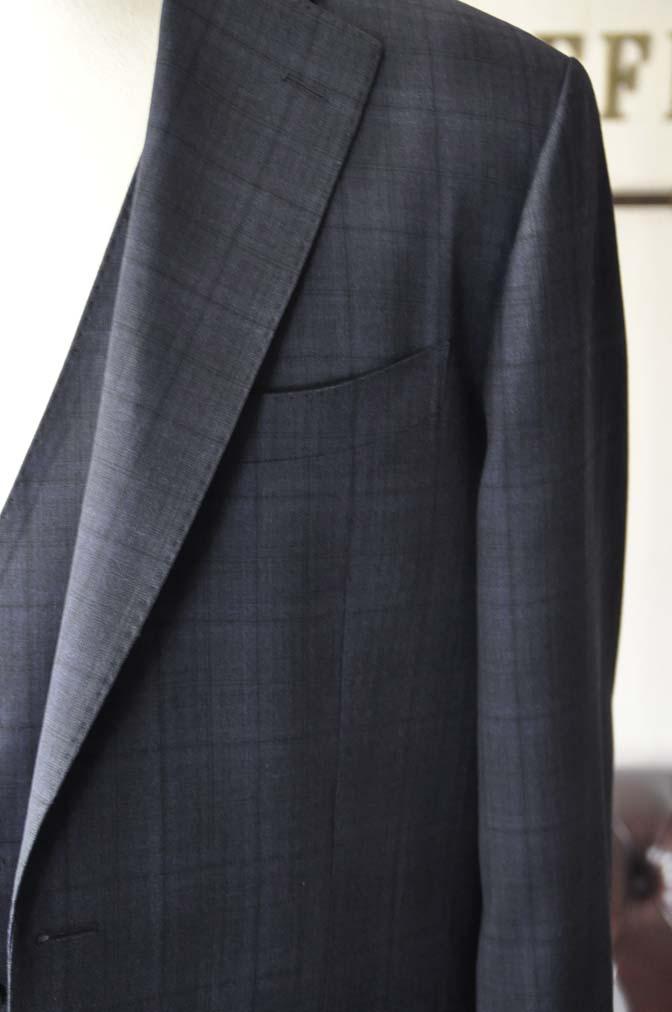 DSC2636-1 お客様のスーツの紹介- Biellesi ネイビーチェックスリーピース-
