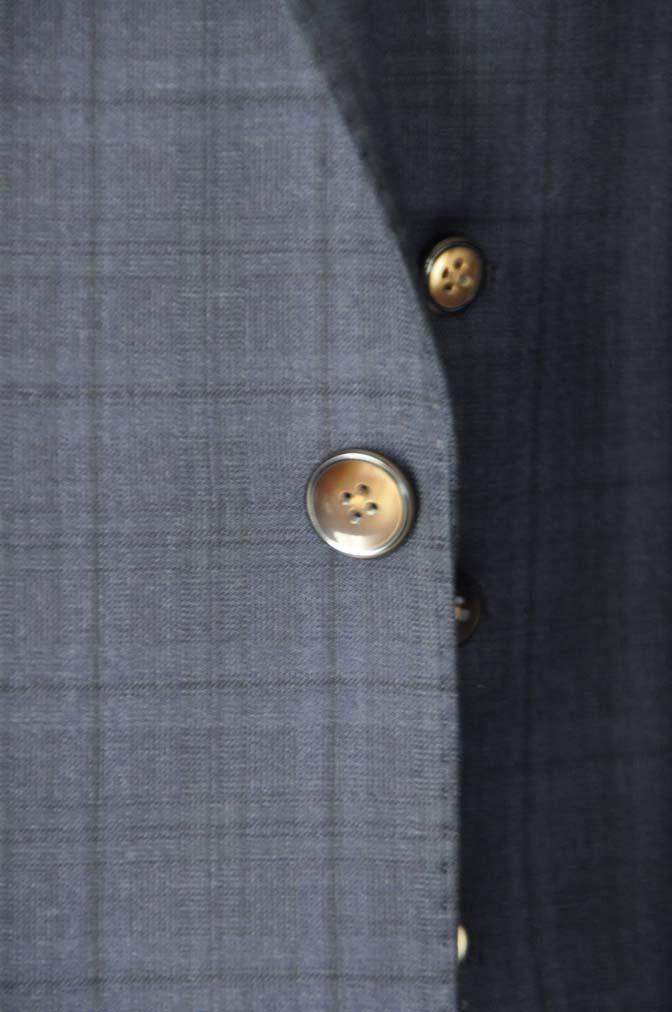 DSC2639-1 お客様のスーツの紹介- Biellesi ネイビーチェックスリーピース-